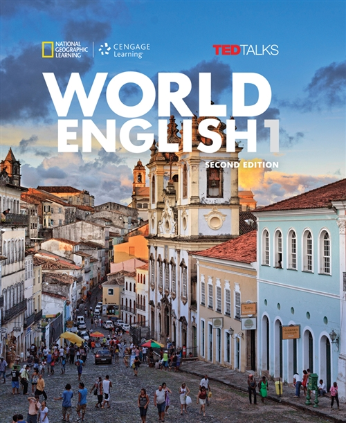 World English with TED Talks 1 - High Beginner - Combo Split A - Student Book + CD-ROM (2nd edition)