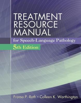 Treatment Resource Manual for Speech Language Pathology (with Student  Web Site Printed Access Card)
