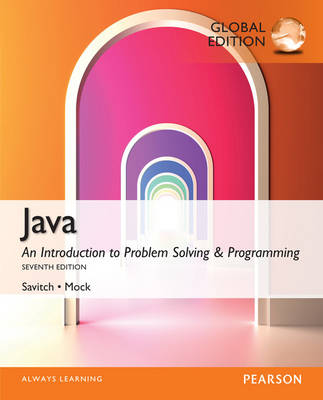 Java: An Introduction to Problem Solving & Programming 7E
