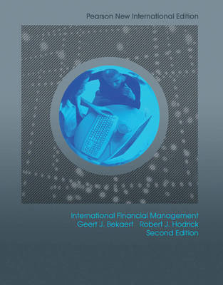 International Financial Management : Pearson New International Edition