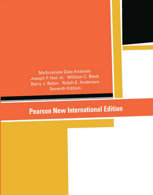 Multivariate Data Analysis, Pearson New International Edition
