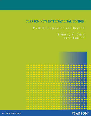 Multiple Regression and Beyond, Pearson New International Edition