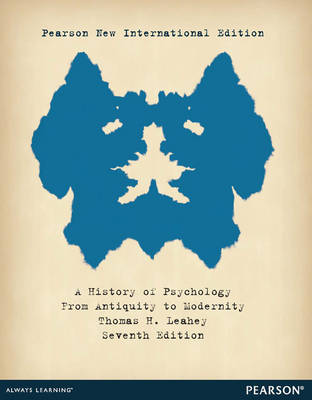 History of Psychology: From Antiquity to Modernity