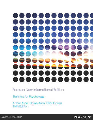 Statistics for Psychology, Pearson New International Edition