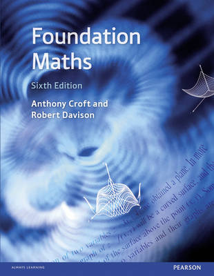 Foundation Maths + MyLab Math with eText