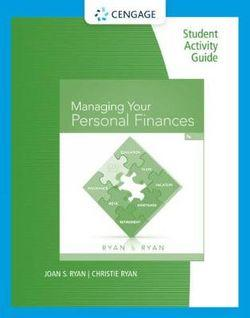 Student Activity Guide: Managing Your Personal Finances, 7th