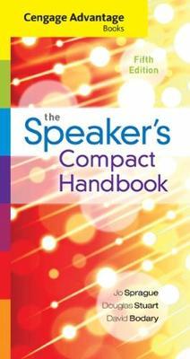 Cengage Advantage Books : The Speaker's Compact Handbook, Spiral bound  Version