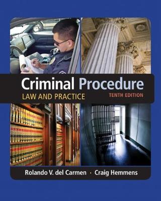 Criminal Procedure : Law and Practice