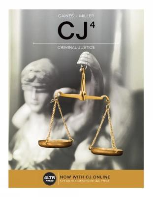 CJ (with CJ Online, 1 term (6 months) Printed Access Card)