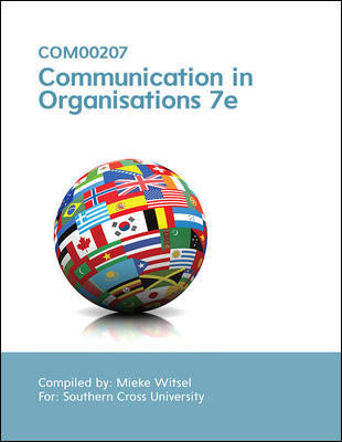 Communication In Organisations 7e (Customised)
