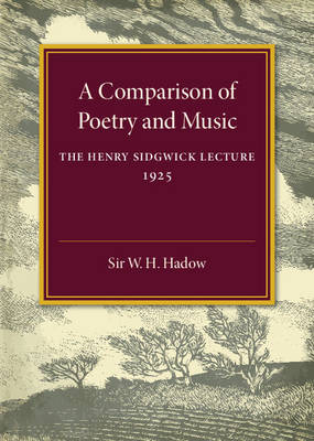 A Comparison of Poetry and Music