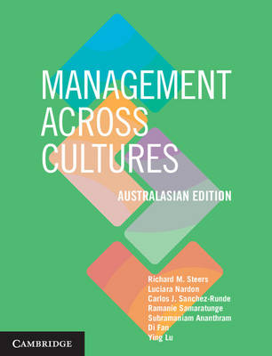 Management across Cultures Australasian edition