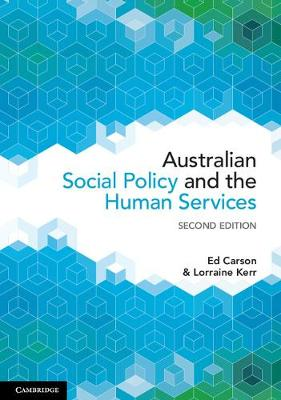 Australian Social Policy and the Human Services 2e