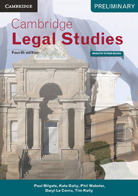 Cambridge Preliminary Legal Studies 4ed Pack (Textbook and Interactive Textbook)