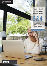 Cambridge VCE Business Management Units 3 and 4