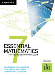 Essential Mathematics for the Victorian Syllabus Year 7