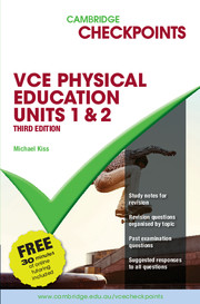 Cambridge Checkpoints VCE Physical Education Units 1 and 2