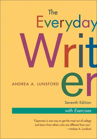 Everyday Writer, 7e With Exercises