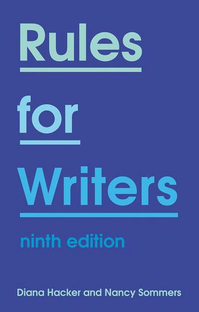 Rules for Writers 9e (IE)