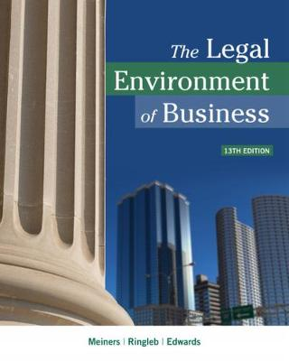 The Legal Environment of Business 13th Edition