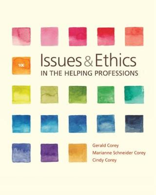 Issue/Ethics Helping Professions