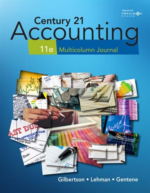 Century 21 Accounting: : Multicolumn Journal