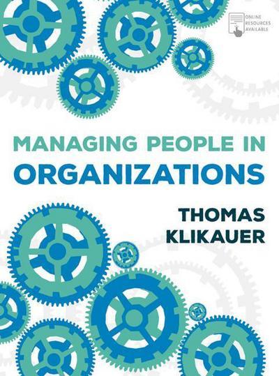 Managing People in Organisations