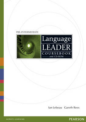 Language Leader Pre-Intermediate Coursebook and CD-Rom Pack