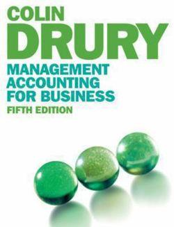 Management Accounting for Business (with CourseMate and eBook Access  Card)