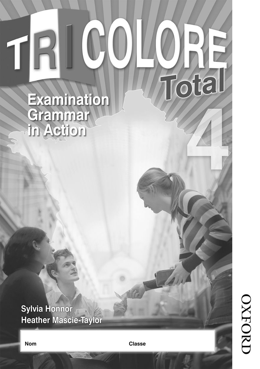 Tricolore Total 4 Grammar in Action Workbook 8 Pack