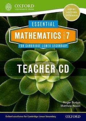 Essential Mathematics for Cambridge Secondary 1 Stage 7 Teacher CD-ROM