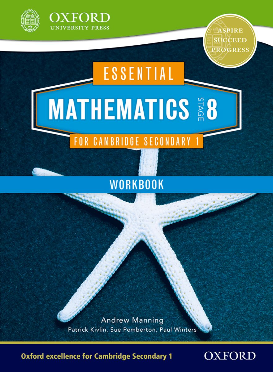 Essential Mathematics for Cambridge Secondary 1 Stage 8 Work Book