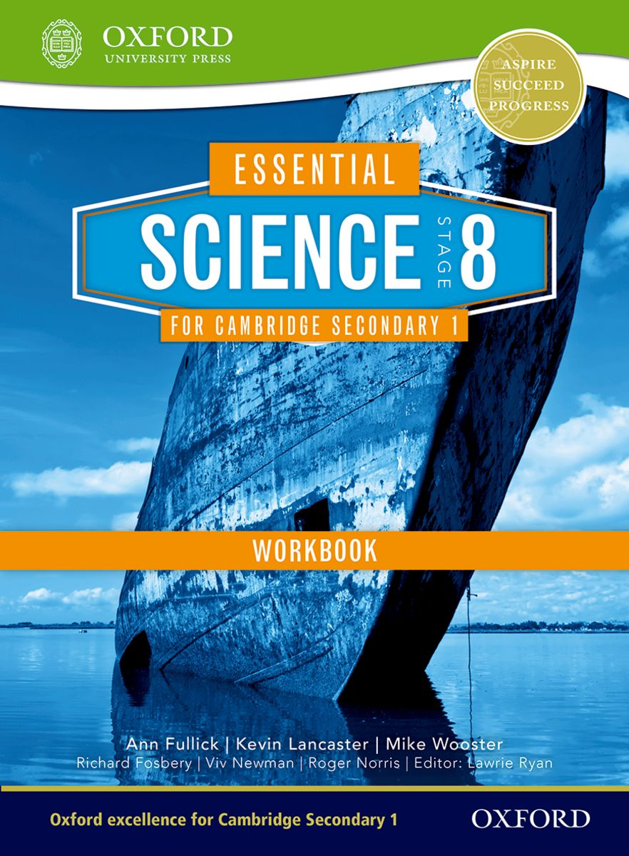 Essential Science for Cambridge Secondary 1 Stage 8 Workbook