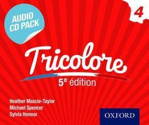 Tricolore 5e Audio CD Pack 3