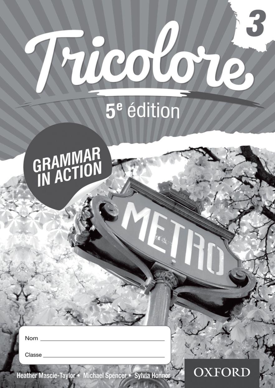 Tricolore 5e Workbook Pack 3