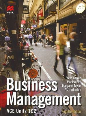 Business Management Units 1 and 2 VCE