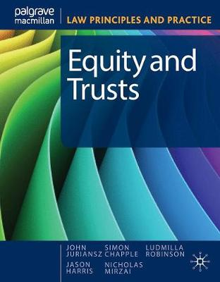 Equity and Trusts by Juriansz