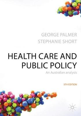 Health care and public policy: an Australian analysis