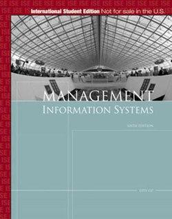Management Information Systems, International Edition