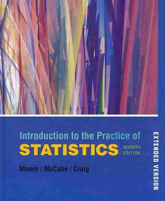 Introduction to the Practice of Statistics 7ed + CD