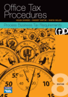 Office Tax Procedures: Process Business Tax Requirements