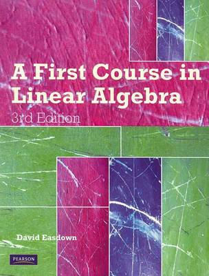 First Course in Linear Algebra + DVD (Pack) MATH1002