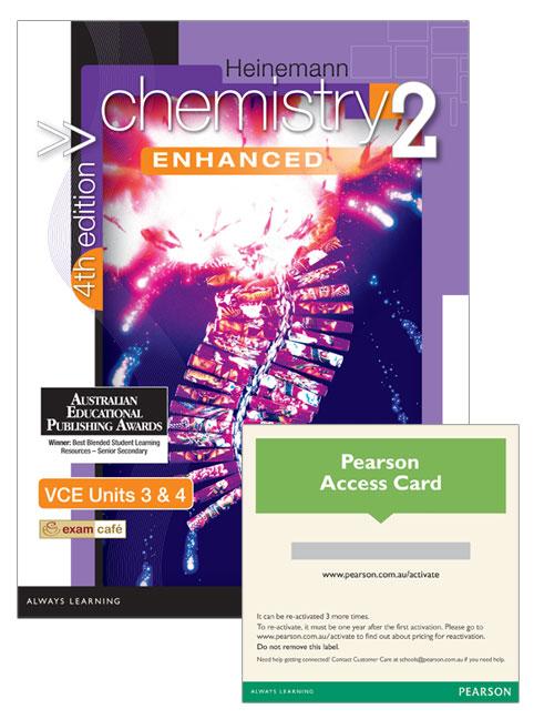 Heinemann Chemistry 2 Enhanced Student Book/Pearson Reader 1.0 Combo Pack