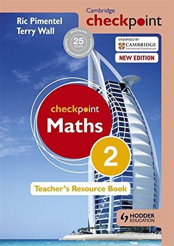 Cambridge Checkpoint Maths Teachers Resource Book 2 +CD
