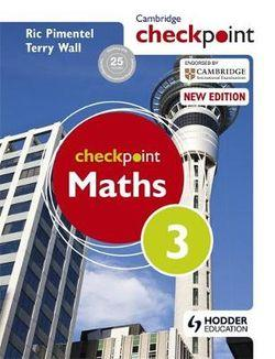 Cambridge Checkpoint Maths Student Book 3