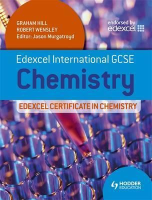 Edexcel International GCSE and Certificate in Chemistry Student Book and CD