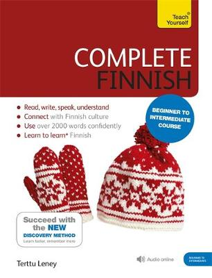 Complete Finnish Beginner to Intermediate Course: (Book and Audio Support)