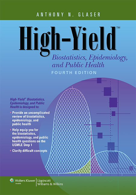 High-Yield Biostatistics, Epidemiology, and Public Health       (High-Yield  Series)