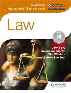 Cambridge International AS/A Level Law