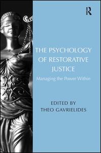 The Psychology of Restorative Justice